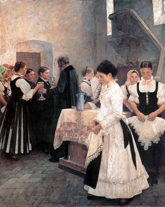 Csok Istvan Ezt cselekedjetek az en emlekezetemre. Hungarian artists