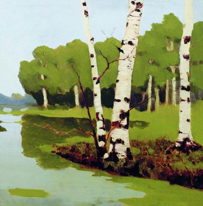 birches.. Arhip Kuindzhi (Kuindschi)