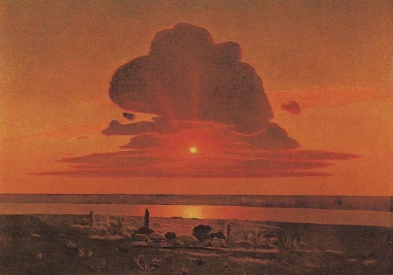 Red sunset.. Arhip Kuindzhi (Kuindschi)