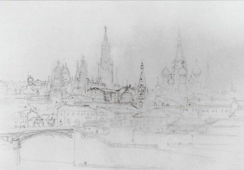 Moscow view. Arhip Kuindzhi (Kuindschi)