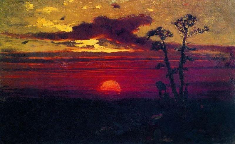 Sunset.. Arhip Kuindzhi (Kuindschi)