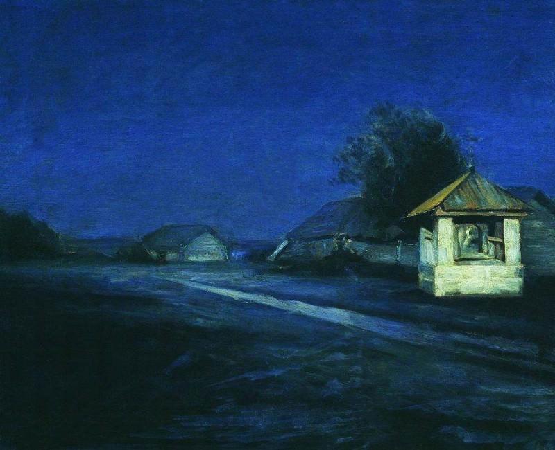Night Landscape. Arhip Kuindzhi (Kuindschi)