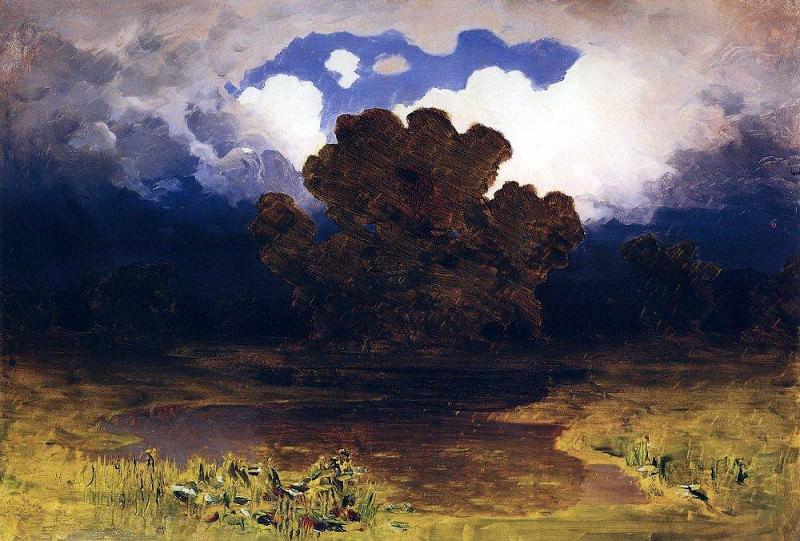 Forest Lake. Cloud.. Arhip Kuindzhi (Kuindschi)