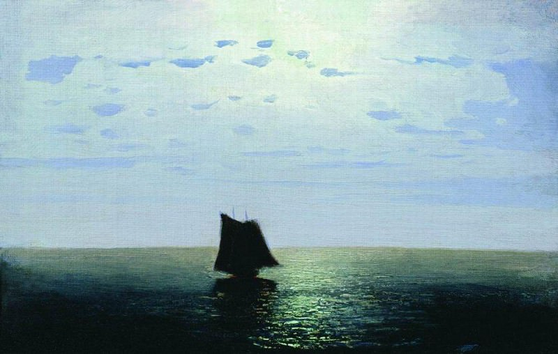 Moonlight Sea. Arhip Kuindzhi (Kuindschi)