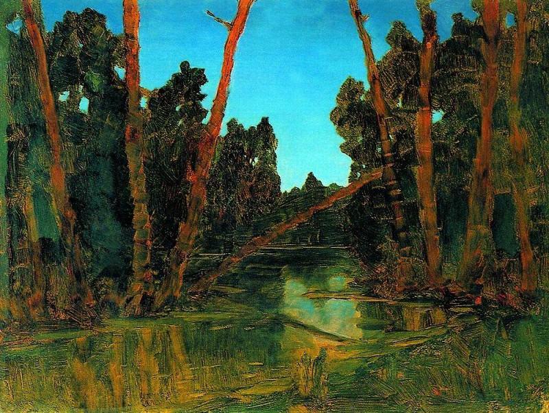 Forest swamp.. Arhip Kuindzhi (Kuindschi)