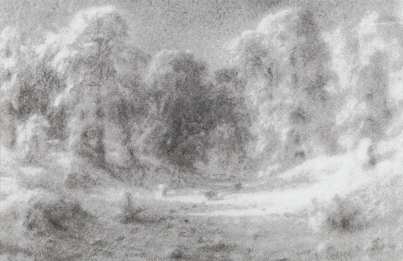 Forest Glade. Arhip Kuindzhi (Kuindschi)