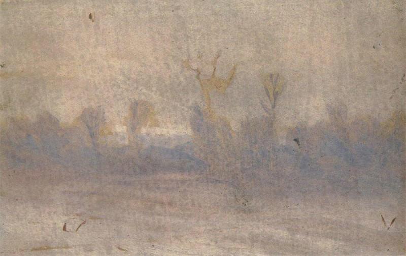 Winter. Fog.. Arhip Kuindzhi (Kuindschi)