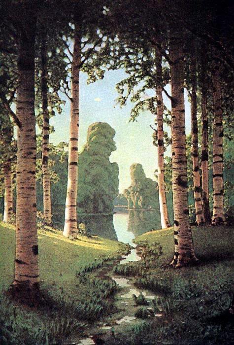 Birchwood. Arhip Kuindzhi (Kuindschi)