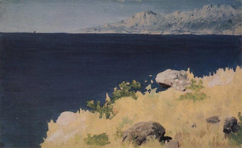 Sea coast. Crimea.. Arhip Kuindzhi (Kuindschi)