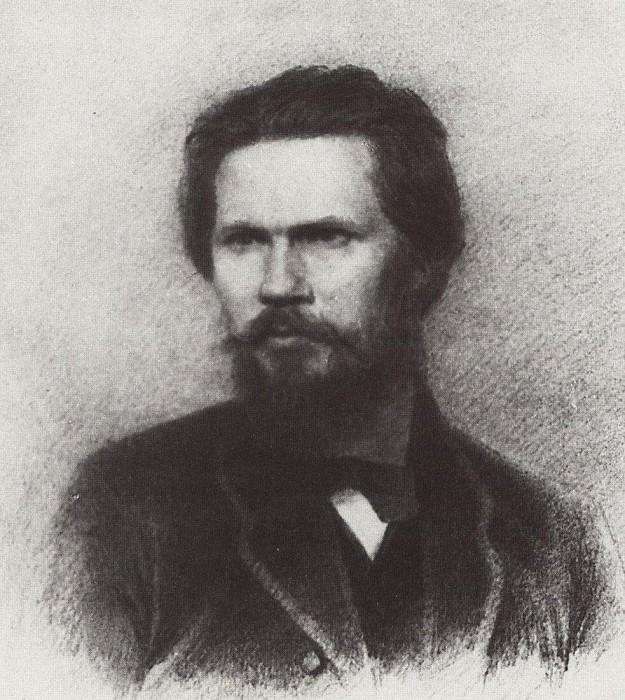Portrait INKramskoy. Arhip Kuindzhi (Kuindschi)
