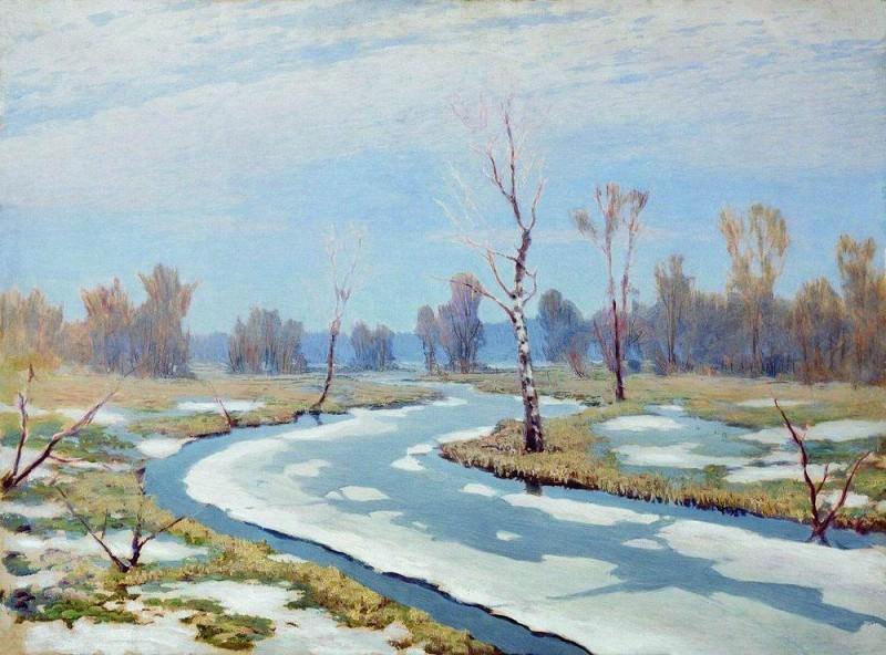 Early spring.. Arhip Kuindzhi (Kuindschi)