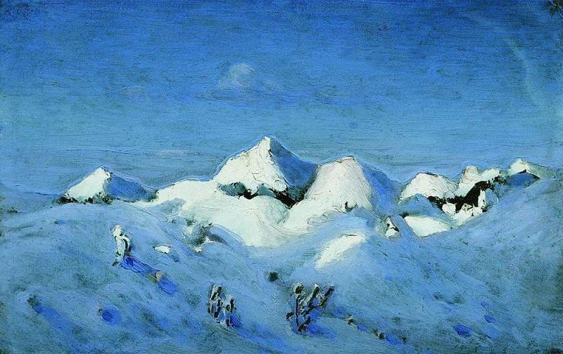 Winter. Arhip Kuindzhi (Kuindschi)