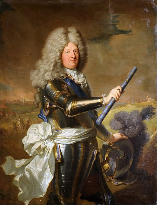 Iasent Rigaud -- Louis de France, Dauphin (1661-1711), known as the Grand Dauphin. Château de Versailles