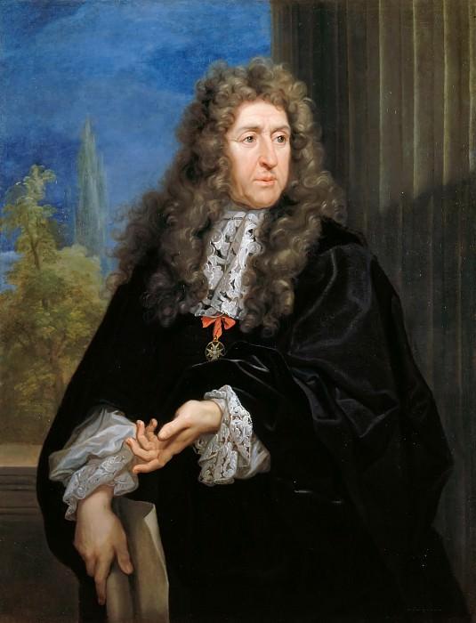 Carlo Maratti -- Andre le Notre (1613-1700). Château de Versailles