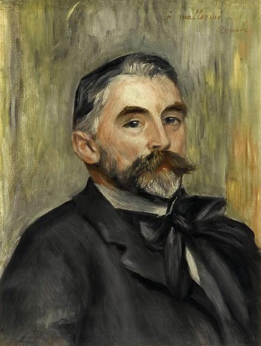 Pierre-Auguste Renoir -- Stéphane Mallarmé. Château de Versailles