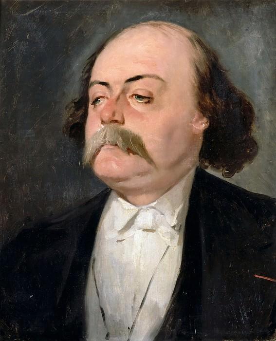 Pierre François Eugène Giraud -- Portrait of the Writer Gustave Flaubert. Château de Versailles
