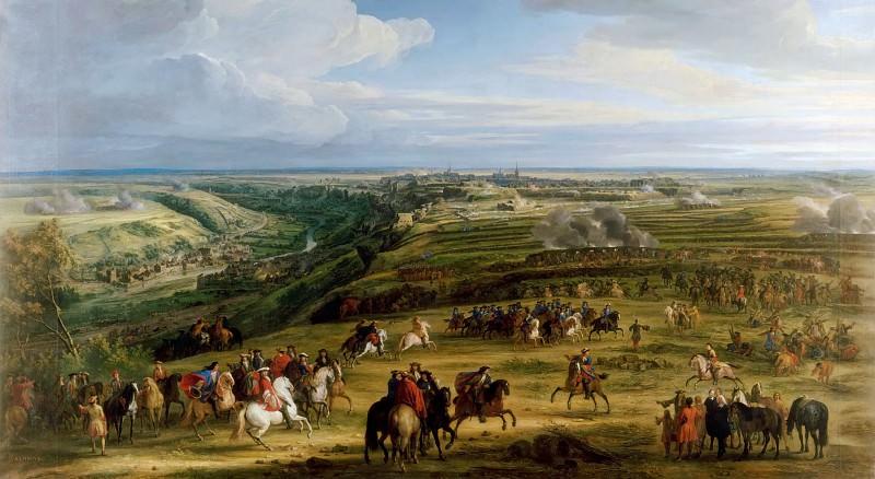 Мейлен, Адам Франс ван дер - Захват Люксембурга 3 июня 1684 года. Версальский дворец