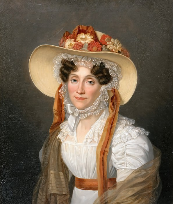 Auguste Decreuse -- Eugénie-Adélaide-Louise d'Orléans, Madame Adelaide (1777-1847). Château de Versailles
