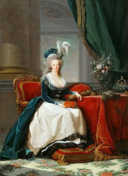 Elisabeth Louise Vigée-LeBrun -- Queen Marie-Antoinette. Château de Versailles