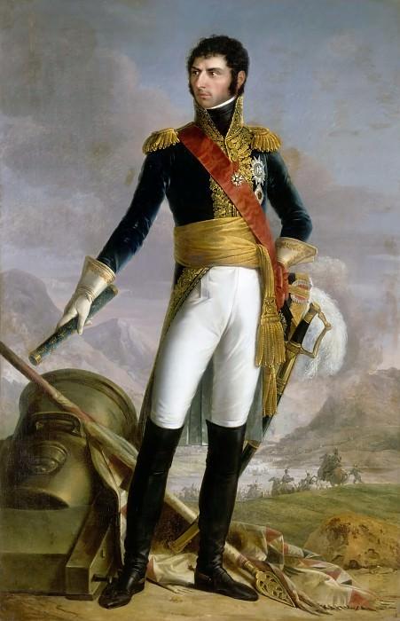 Joseph Nicholas Jouy -- Jean-Baptiste-Jules Bernadotte, Prince of Ponte Corvo, Maréchal de France, later King of Sweden and Norway, shown in 1804. Château de Versailles