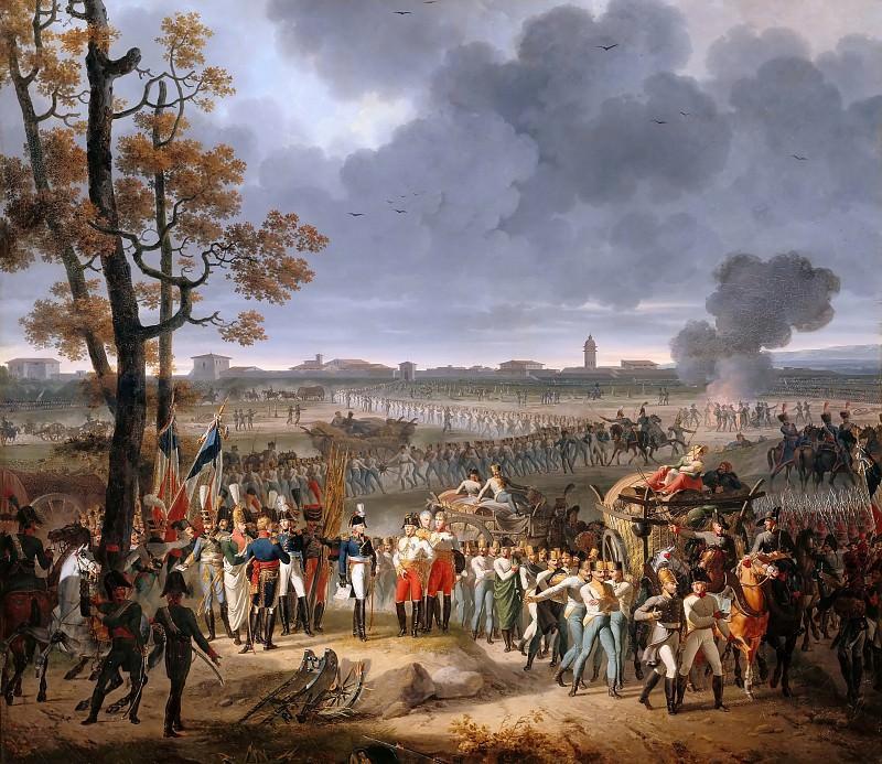 Ипполит Лекомт -- Капитуляция Мантуи 2 февраля 1797 года. Версальский дворец