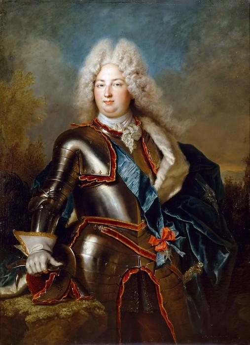 Ларжильер, Никола де - Карл Французский, герцог де Берри. Версальский дворец