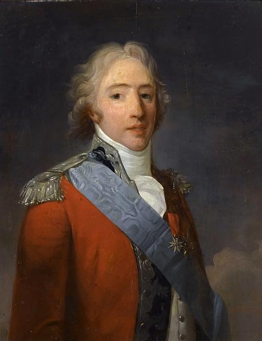 Анри-Пьер Данлу -- Карл-Филипп Французский, граф Артуа. Версальский дворец