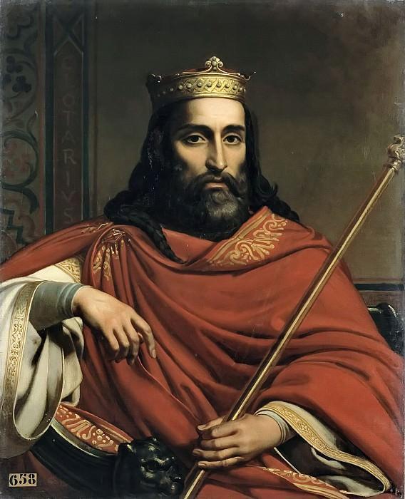Jean-Louis Besar -- Clotaire Ier, roi des Francs (498-661). Château de Versailles