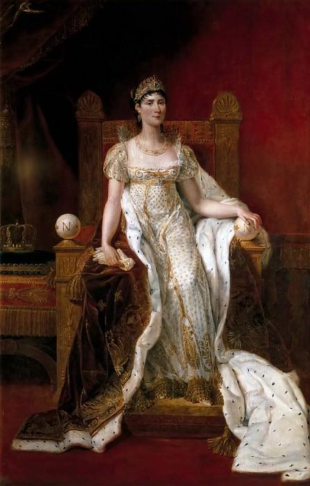 Guillaume Lethiere -- Josephine de Beauharnais, Empress of France (1763-1814). Château de Versailles