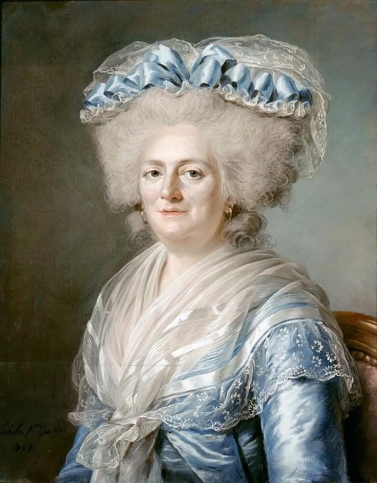Adélaïde Labille-Guiard -- Marie-Louise-Thérèse-Victoire de France, called Madame Victoire. Château de Versailles
