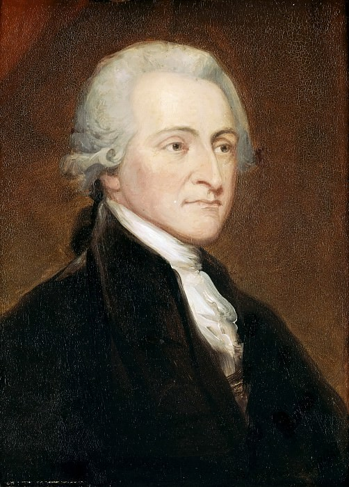 George Peter Alexander Healy -- John Jay, Member of the Continental Congress in 1774, Governor of the State of New York. Château de Versailles