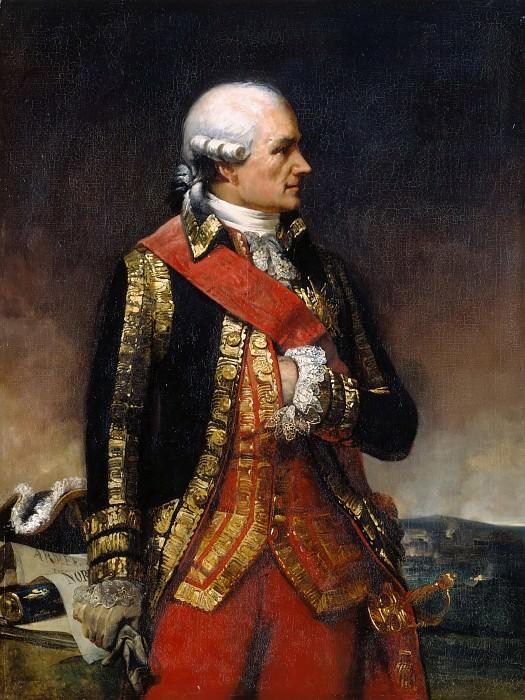 Charles Philippe Auguste Larivière -- Jean-Baptiste-Donatien de Vimeur, comte de Rochambeau, Maréchal of France, Commander-in-chief of the Armée du Nord in 1792. Château de Versailles