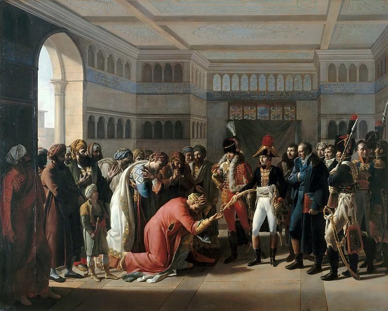 Мюлар, Франсуа-Анри - Бонапарт дарит саблю военачальнику Александрии. Версальский дворец