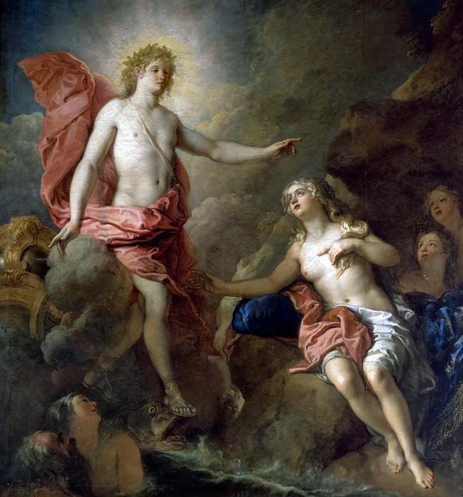 Charles de la Fosse -- Apollo and Thetis. Château de Versailles