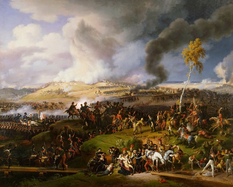 Louis Francois Lejeune -- Battle of Moscow, 7 September 1812. Château de Versailles