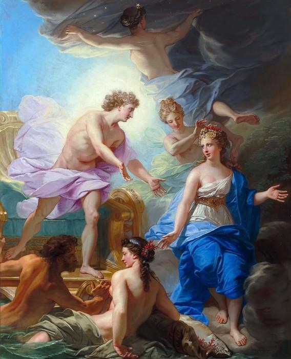 Jean-Baptiste Jouvenet -- Apollo and Thetis. Château de Versailles