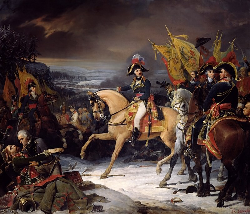 Henri-Frederic Chopin -- The Battle of Hohenlinden December 3, 1800. Château de Versailles