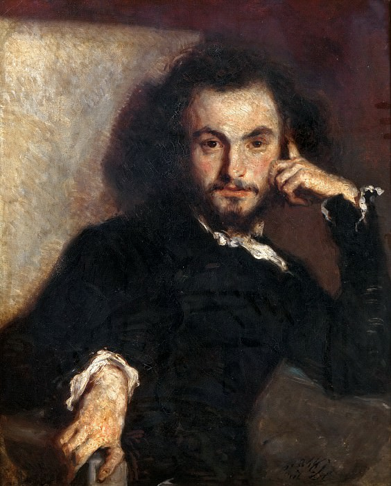 Émile Isidore Deroy -- Charles-Pierre Baudelaire (1821-1867). Château de Versailles