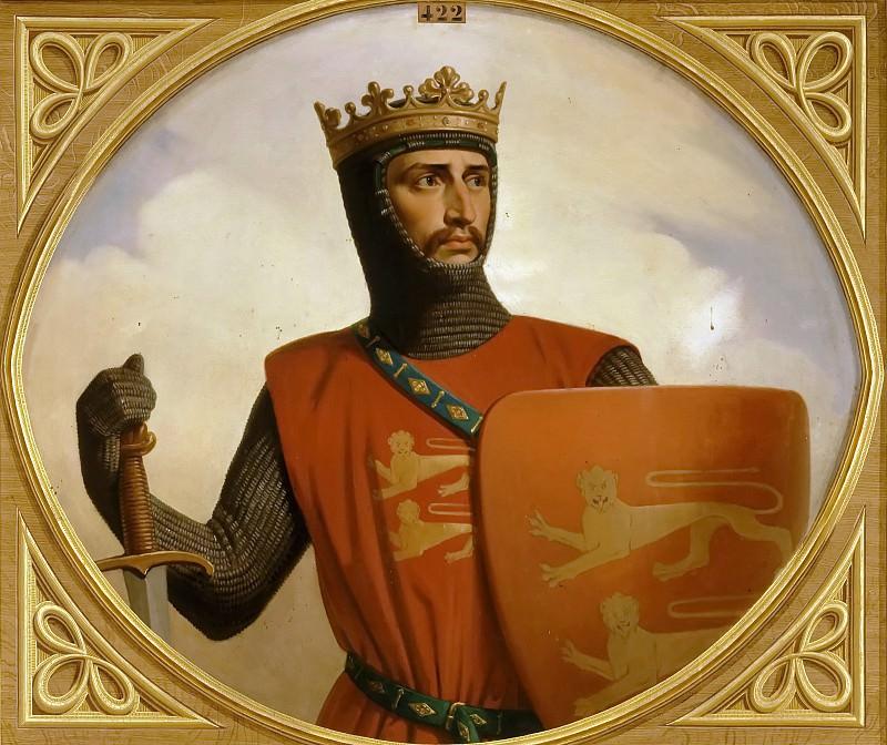 Henri de Caisne -- Robert III, called 'Courtheleuse,' Duke of Normandy (1058-1134). Château de Versailles