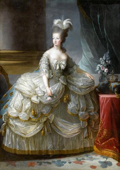 Marie-Antoinette, reine de France. Élisabeth Louise Vigée Le Brun
