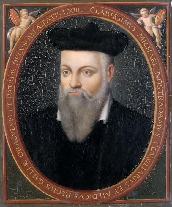 Гране, Франсуа Мариус - Мишель Нострадамус (1503-1566). Версальский дворец