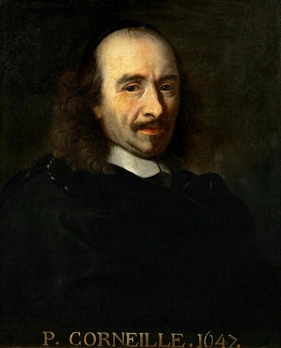 Шарль ле Брен -- Поэт Пьер Корнель (1606-1694). Версальский дворец