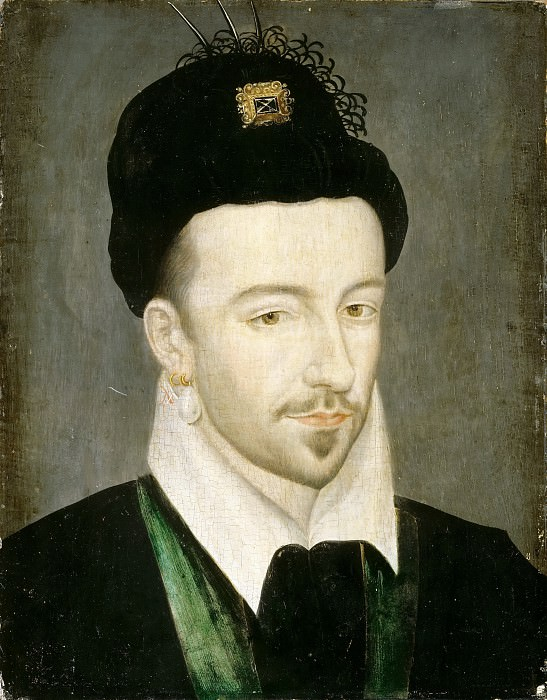 Attributed to Jean Decourt -- Henry III, King of France (1551-1589). Château de Versailles