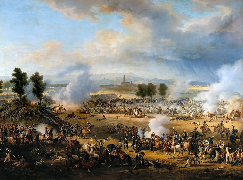 Louis Francois Lejeune -- Battle of Marengo, 14 June 1800. Château de Versailles