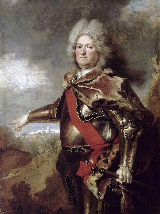 Largillière (de), Nicolas -- Antoine Le Prestre, comte de Puy-Vauban (1654-1731), gouverneur de Béthune. Château de Versailles