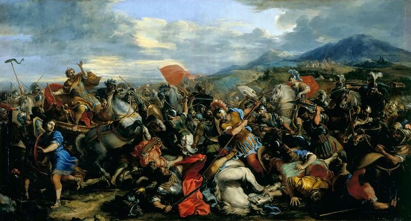 Jacques Courtois -- Battle of Arbelles, 331 BCE. Château de Versailles
