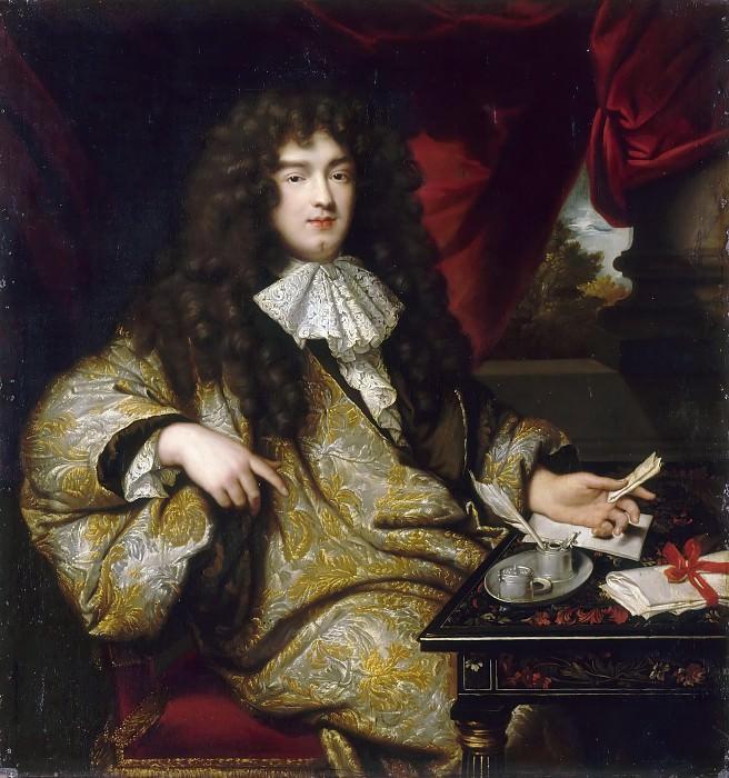 Jean-Marc Nattier after Claude Lefebvre -- Jean-Baptiste Colbert, Marquis de Seignelay (1651-1690). Château de Versailles