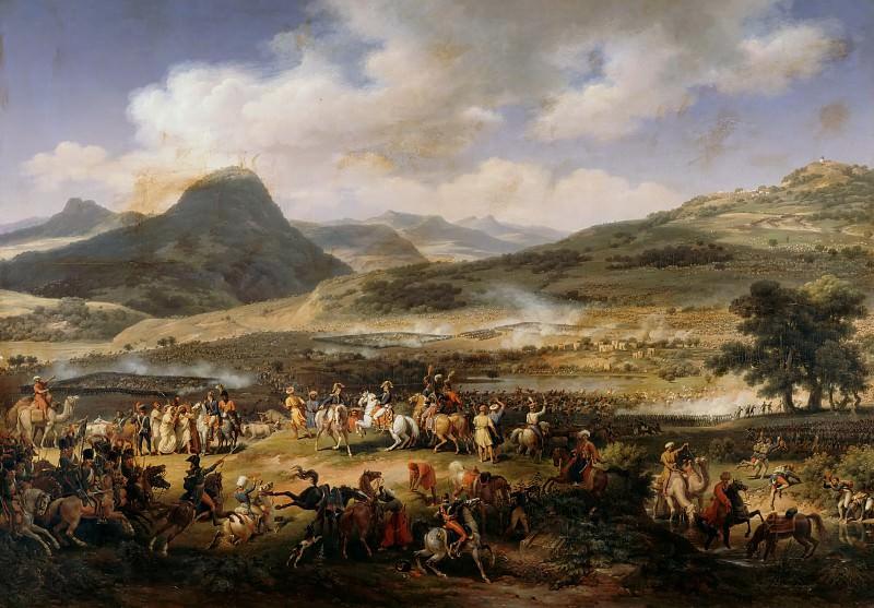 Louis Francois Lejeune -- Battle of Mount Thabor, 16 April 1799. Château de Versailles