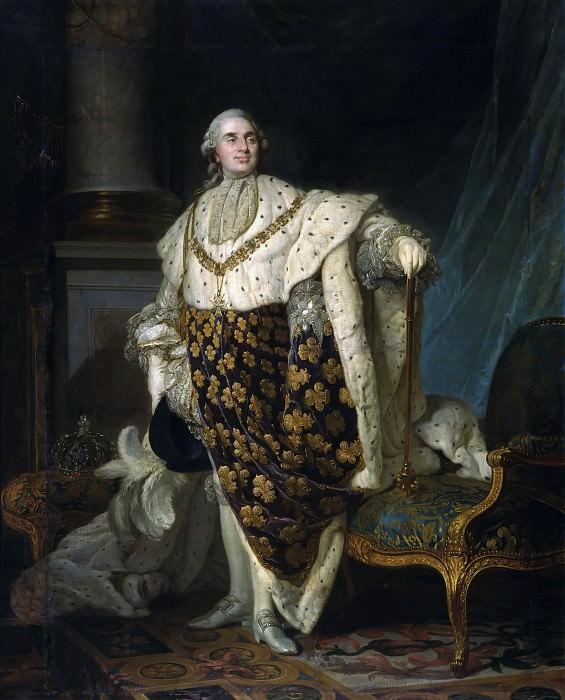 Louis XVI, roi de France -- Duplessis, Louis-Joseph-Siffrède. Château de Versailles