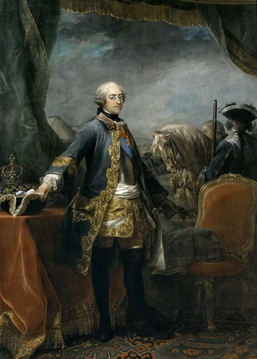 Louis XV, roi de France -- Van Loo, Charles-André, dit Carle. Château de Versailles
